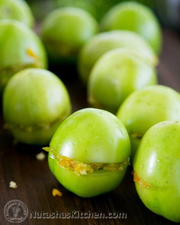 Tomates verdes em conserva-7