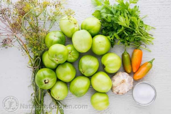 Conservas de tomate verde