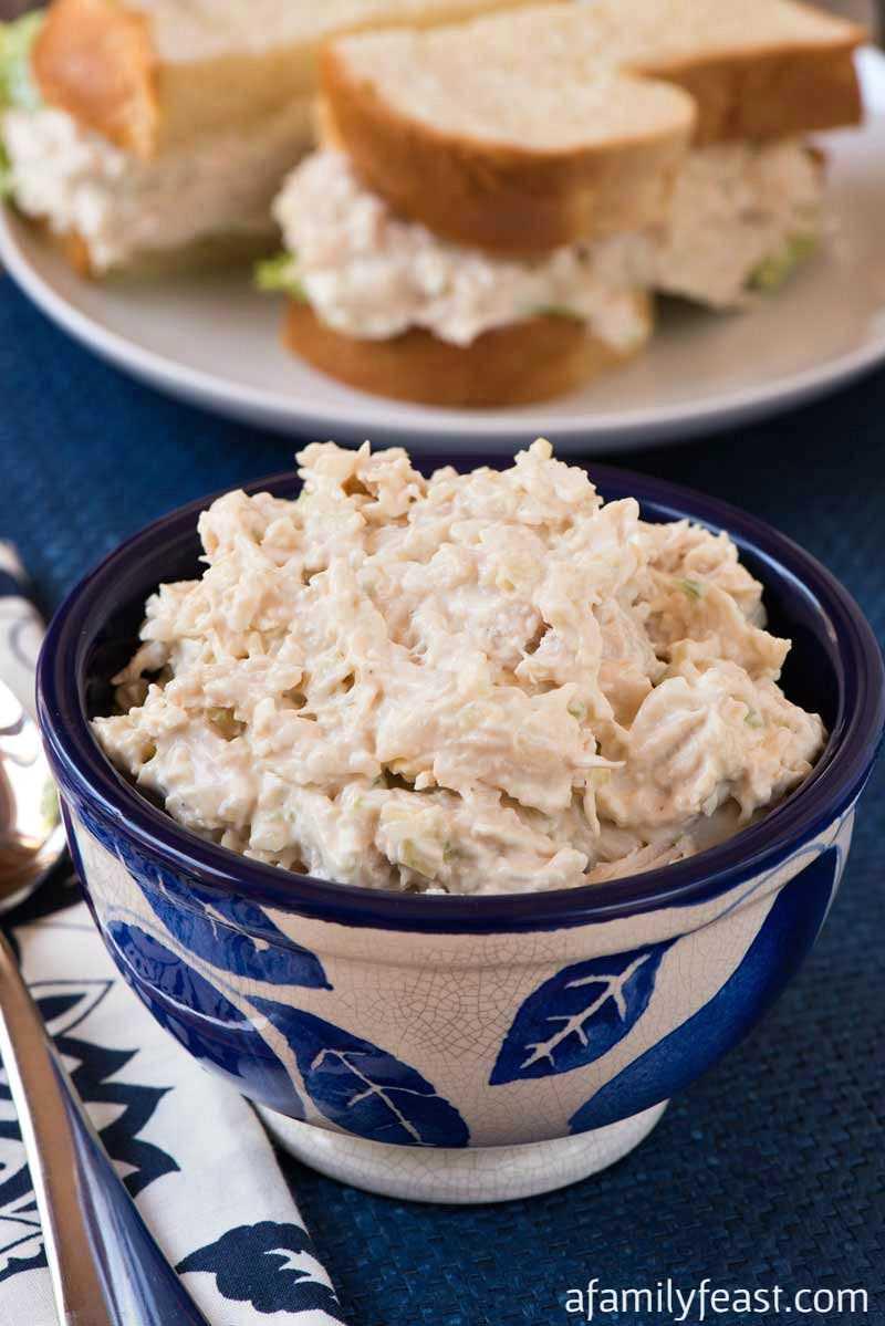 Receta de imitación de ensalada de pollo de sauce
