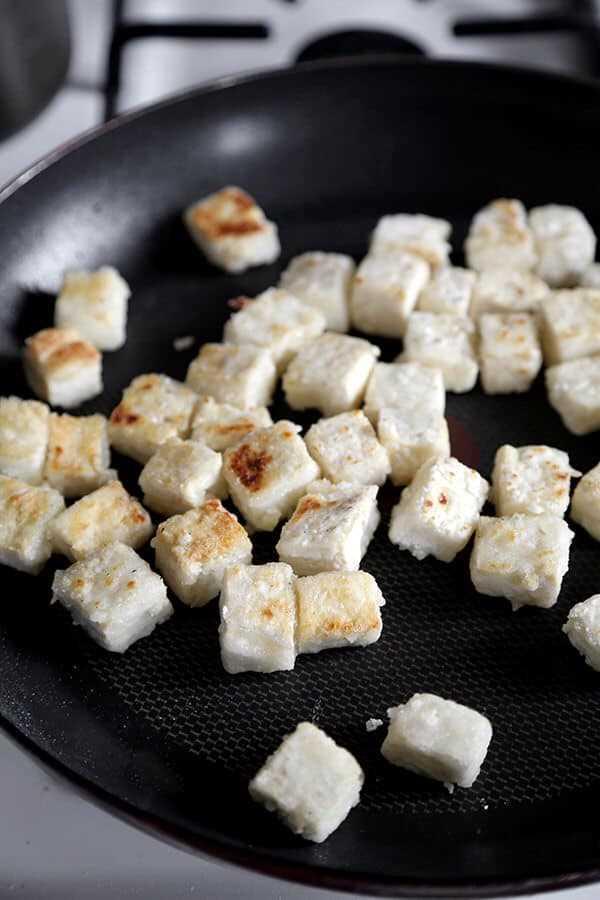 Como fazer tofu crocante