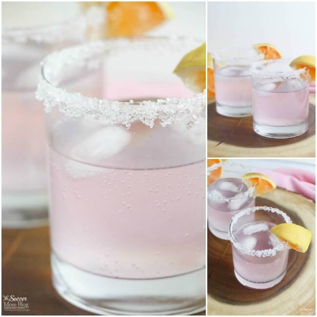 This magnificent Sparkling Pink Paloma Cocktail Recipe will change the way you view tequila! A perfect festive drink for brunch, parties and holidays.