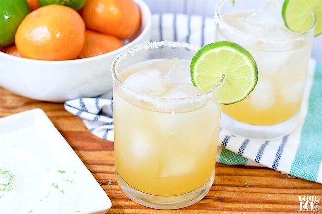 Forget about powders and mixes - once you try this freshly squeezed skinny margarita recipe, you'll never come back!