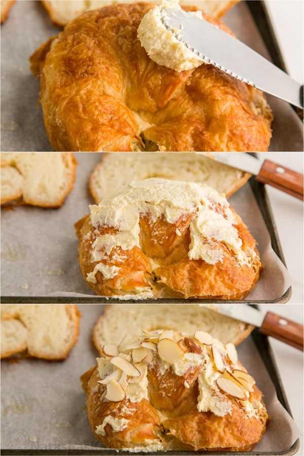 Croissants de almendras Receta-1