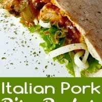 Receita de pita italiana para dois