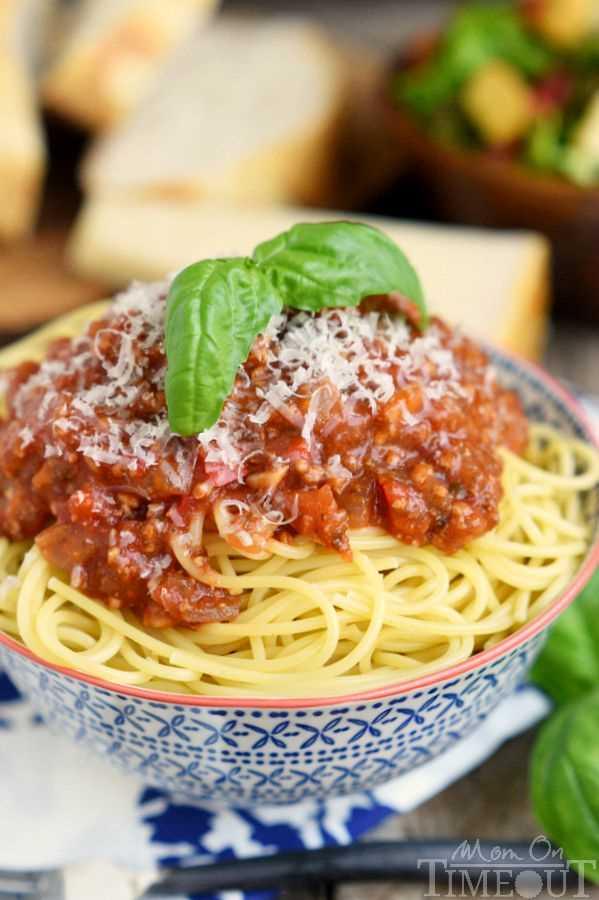 cómo hacer salsa de espagueti