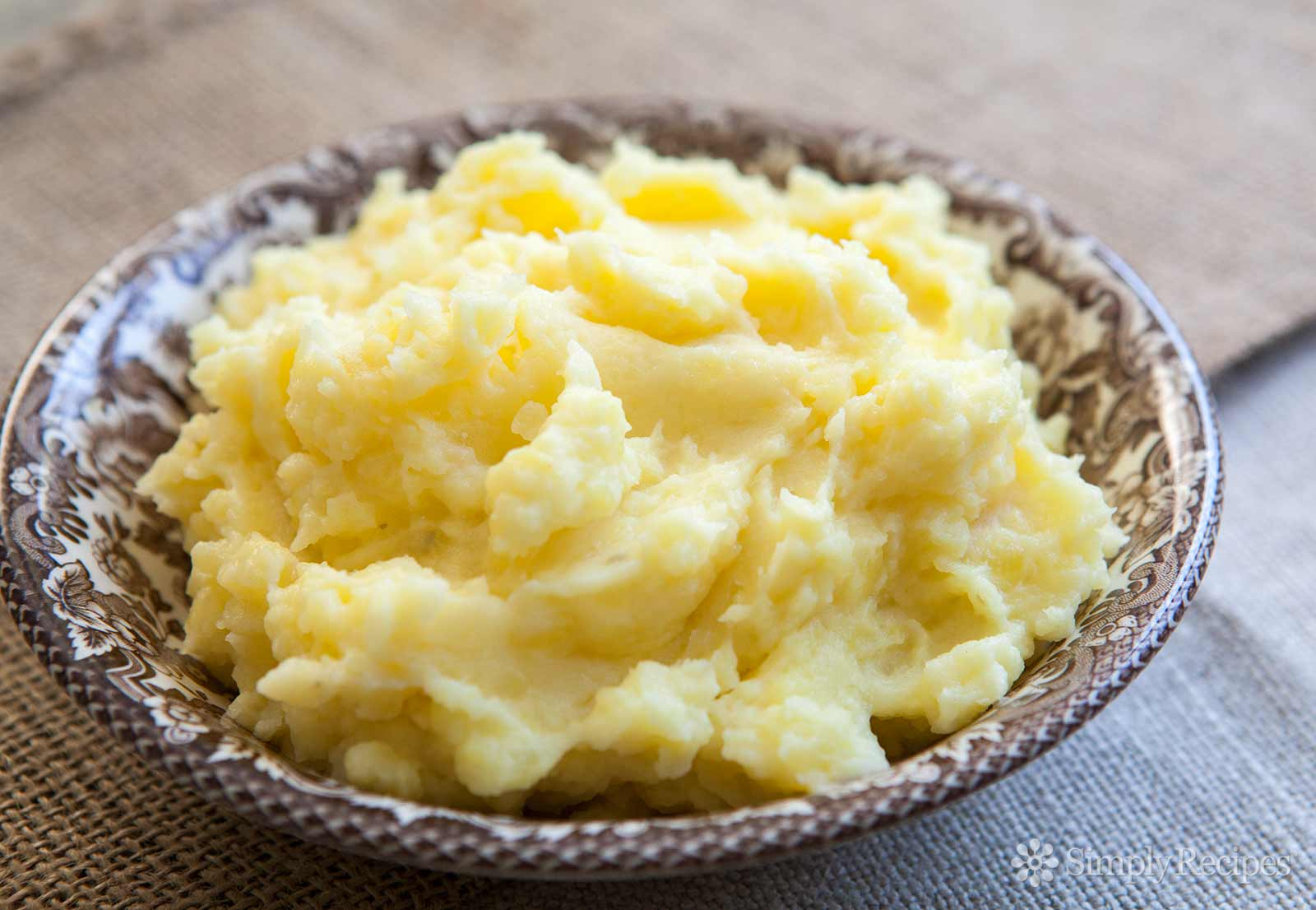 Puré de patatas perfectas