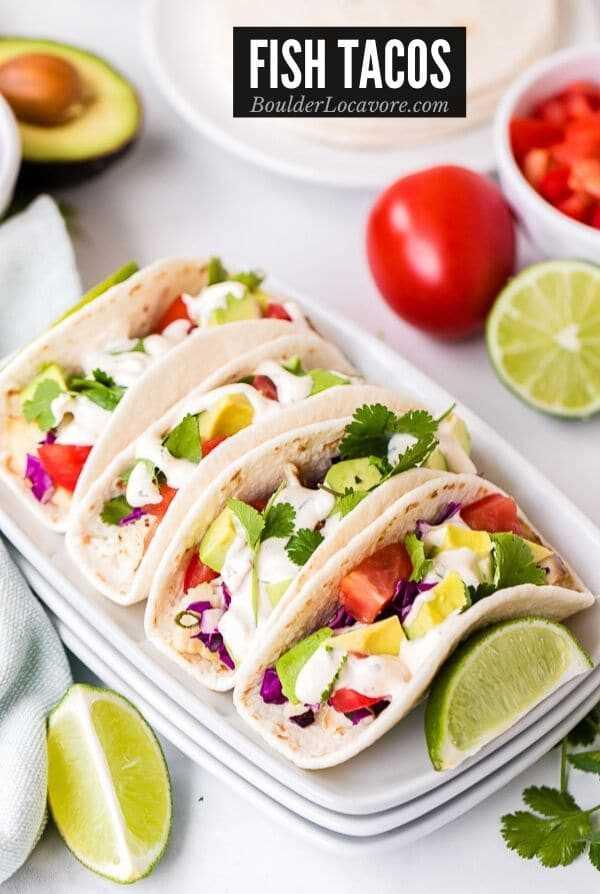 Imagem do título de Tacos de Peixe