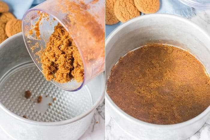 Faça receitas instantâneas para a massa de queijo com abóbora nos passos da panela 2