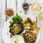 Salsa de inmersión de alcachofa: 4 recetas fáciles y deliciosas