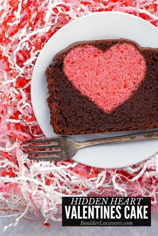 Imagen del título del pastel de San Valentín