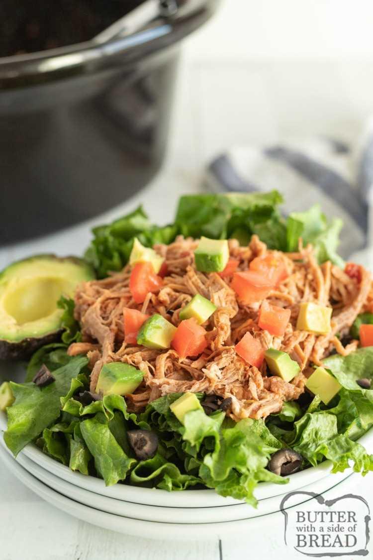 Receta de 3 ingredientes imitación de cerdo Cafe Rio