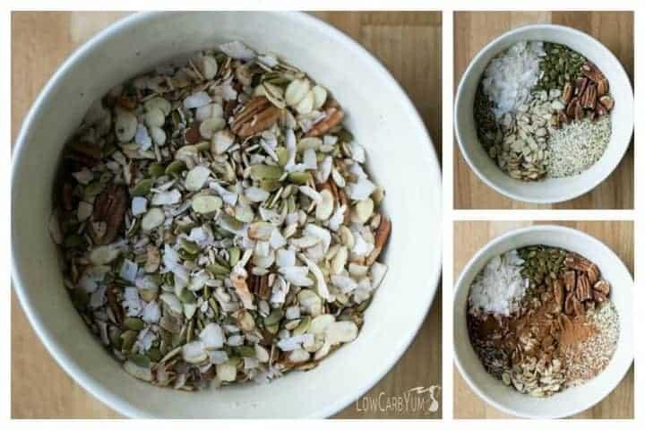 Cereal Muesli bajo en carbohidratos