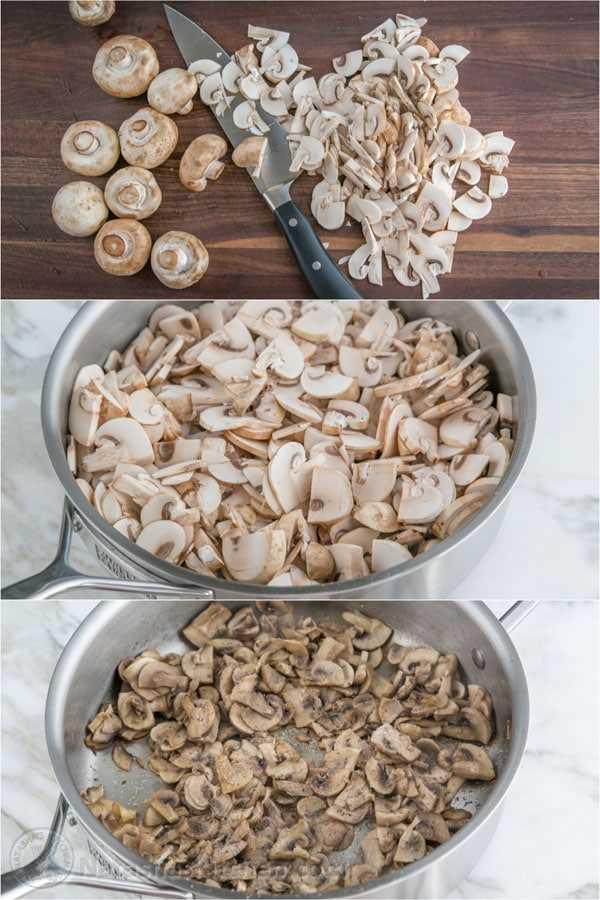 Rolos de ovo de porco e cogumelos-5