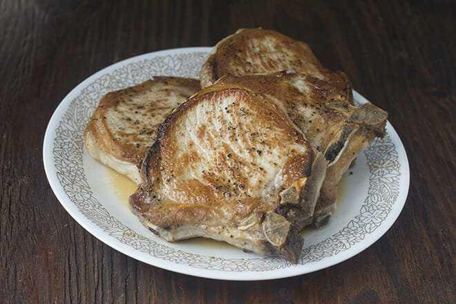 Cómo cocinar chuletas de cerdo