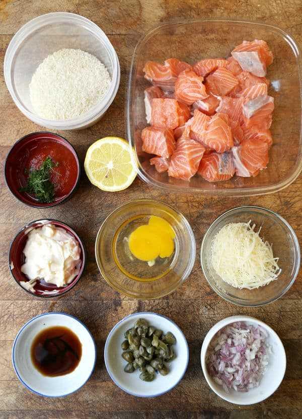 croquetas de salmón empanadas de salmón ingredientes