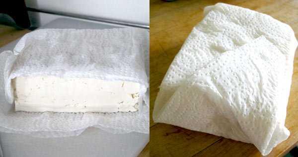 como usar tofu