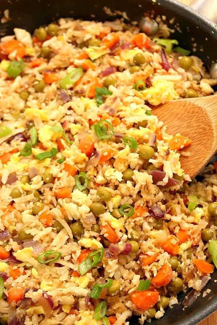 Arroz frito 3º Receita de arroz com molho de queijo com abobrinha e milho