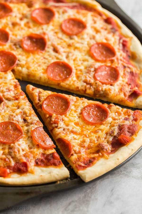 receta de masa de pizza fácil al horno