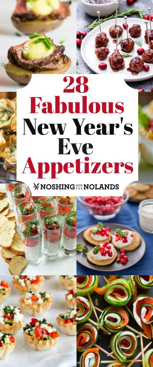 ¡28 fabulosos aperitivos de Nochevieja lo ayudarán a celebrar el Año Nuevo con estilo! #NewYearsEveappetizers #appetizers