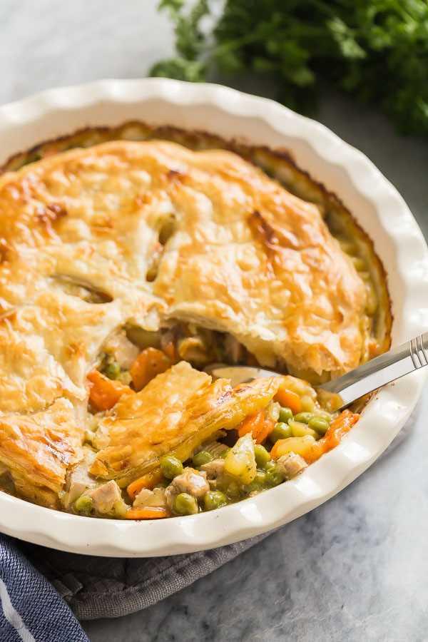 tablespoon turkey pot pie