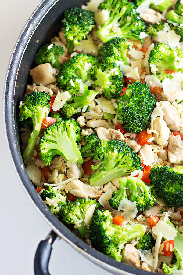 Chicken and Rice Skillet Dinner Recipe 20 Minutes in a Skillet