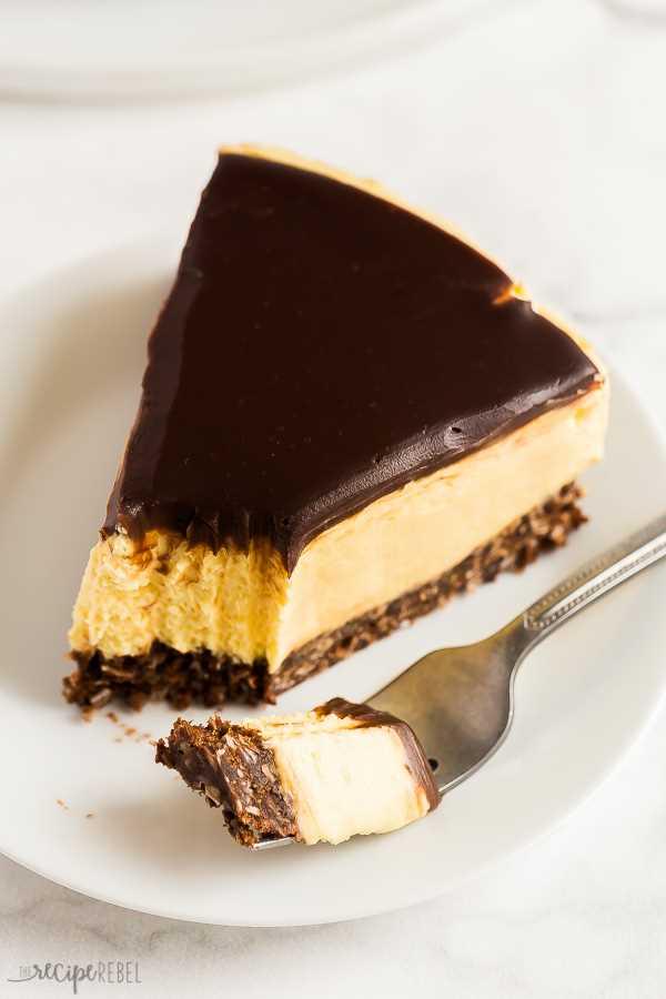 sin hornear nanaimo bar tarta de queso