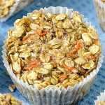 Receta saludable de panecillos de avena y zanahoria - Imagen destacada