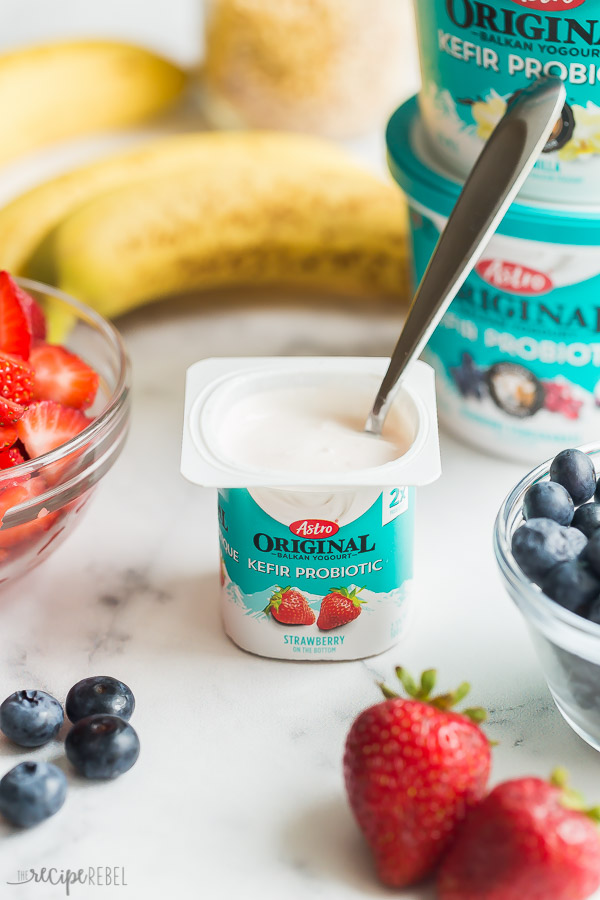 astro original kéfir yogurt
