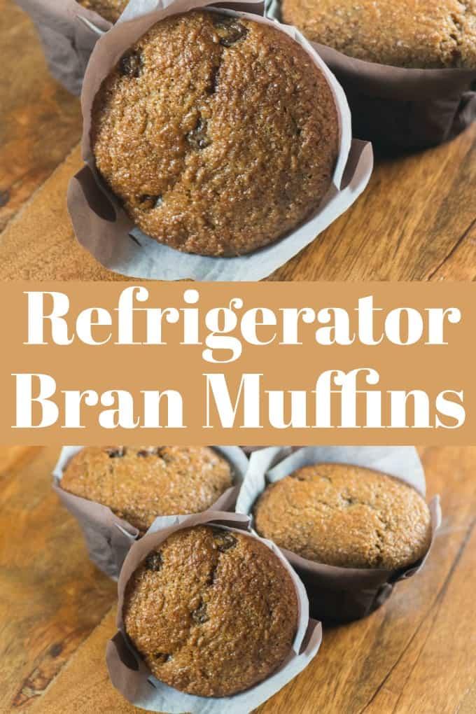 Estas maravillosas magdalenas de salvado de refrigerador están listas cuando desee una magdalena fresca y caliente. La masa se mantiene hasta 6 semanas en la nevera. # muffins #refrigerator #readywhenyouare
