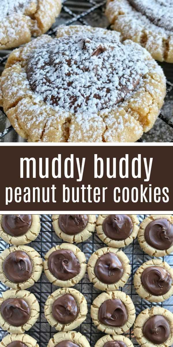 Muddy Buddy Galletas de mantequilla de maní | Galletas de navidad | Cookies | Galletas de mantequilla de maní | Deje que el chocolate se cuaje y enfríe por completo (aproximadamente 2 horas) antes de espolvorear con azúcar en polvo. Para acelerar el enfriamiento y el endurecimiento del chocolate, coloque las galletas en el refrigerador o en el congelador. # galletas # receta fácil # galletas de Navidad # postre # galletas de mantequilla de maní