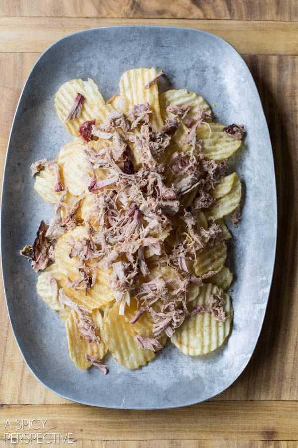 Passo 2 - 5 ingredientes Nachos de porco desfiado