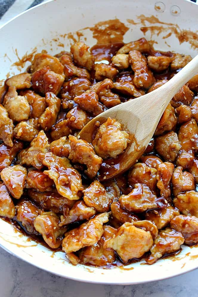 Frango com gergelim 4 Receita fácil de frango com gergelim