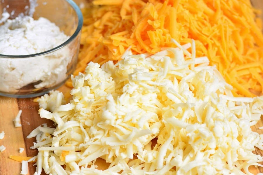Queijos para macarrão e queijo