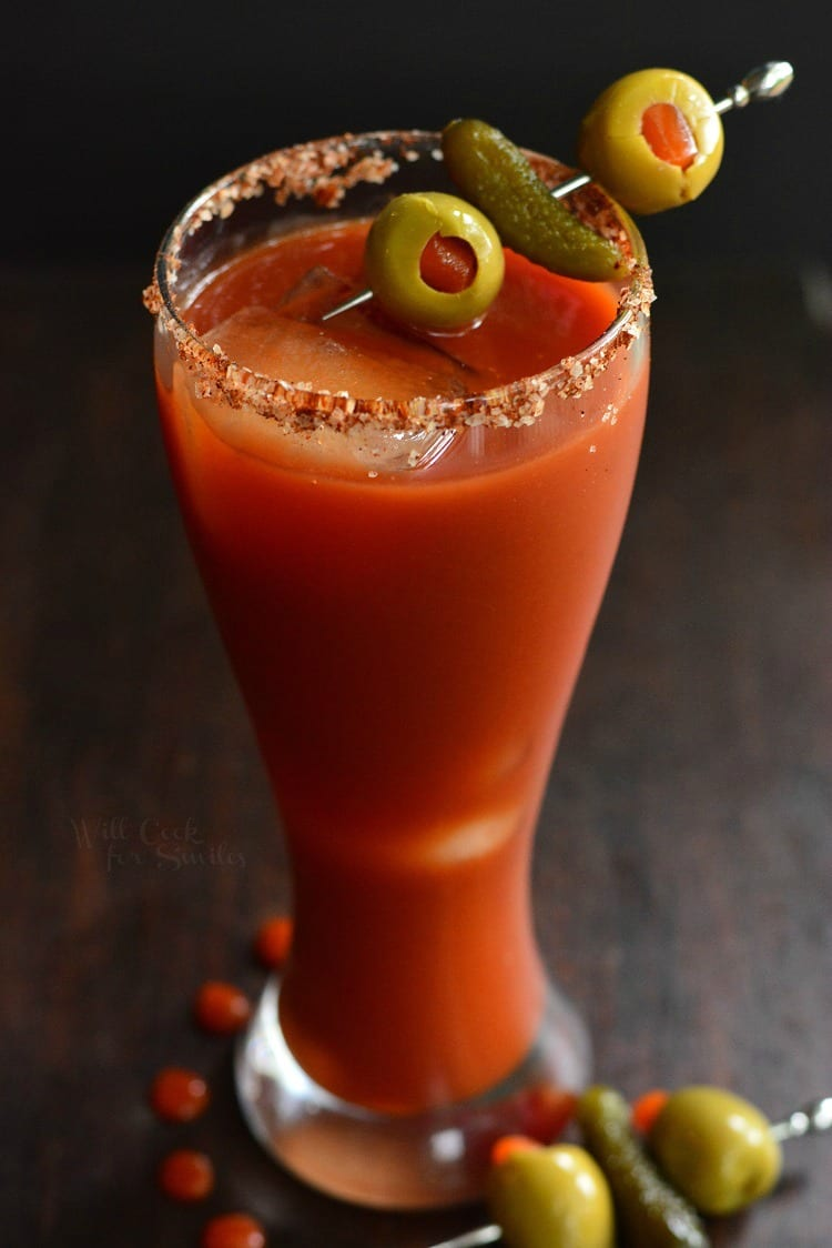 Cócteles de brunch: Bloody Mary picante