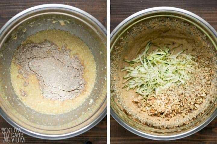 masa de pan de calabacín