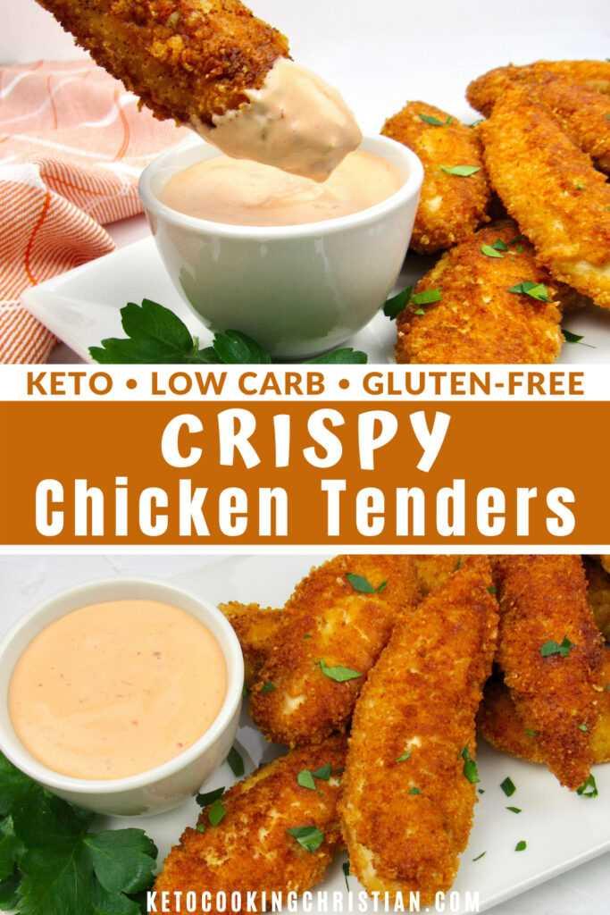 PIN Keto Chicken Tenders - Sin gluten