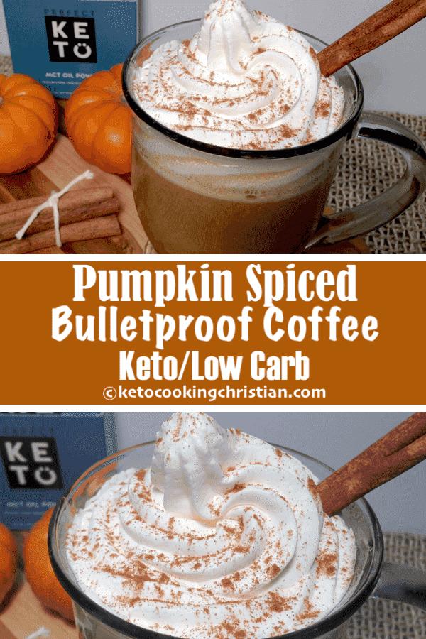 Café a prueba de balas con especias de calabaza - Keto y bajo en carbohidratos