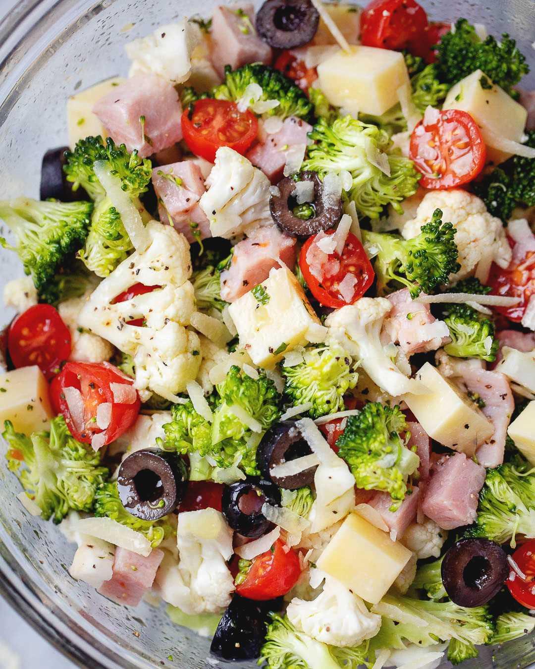 Ensalada de coliflor y brócoli receta 3