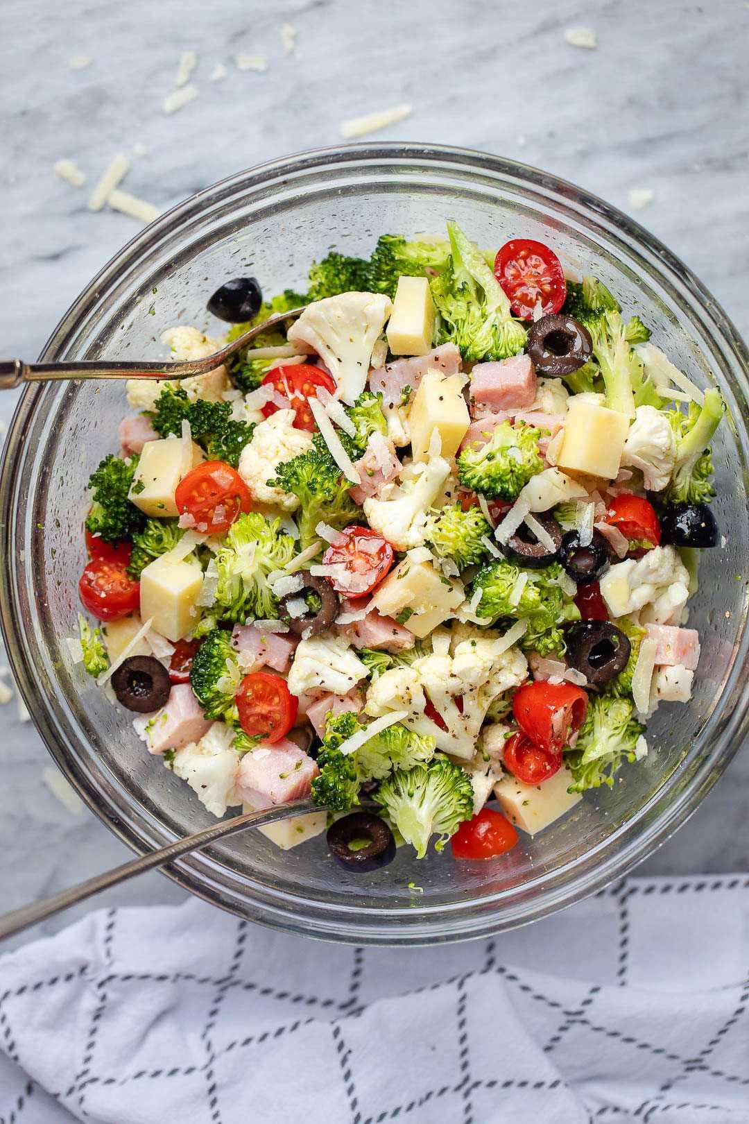 Ensalada de coliflor y brócoli receta 2