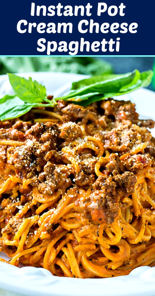 Spaghetti de queso crema instantáneo #instantpot #pasta
