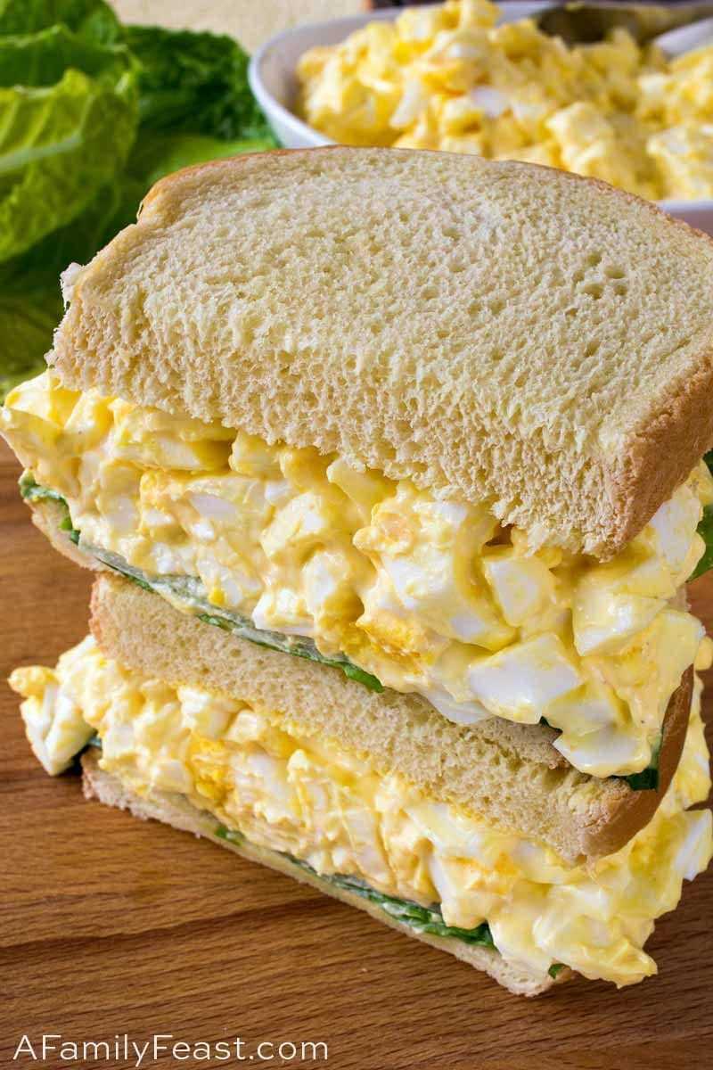 Ensalada clásica de huevo: una fiesta familiar