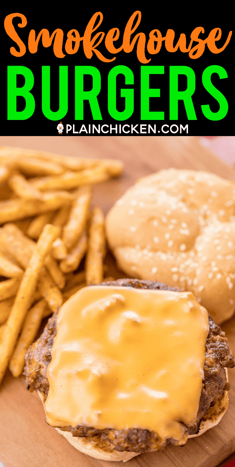 Smokehouse Burgers - ¡LAS MEJORES hamburguesas! Carne molida y salchichas cargadas de queso cheddar, tocino, rancho, salsa barbacoa y cebolla francesa frita. ¡¡¡Perfección!!! Se puede adelantar y congelar para más tarde. ¡Hicimos esto para una comida al aire libre y todos pidieron la receta! Nuestra receta de hamburguesas # 1 !! ¡Necesitas hacer esto lo antes posible! #grilling #burgers #beef