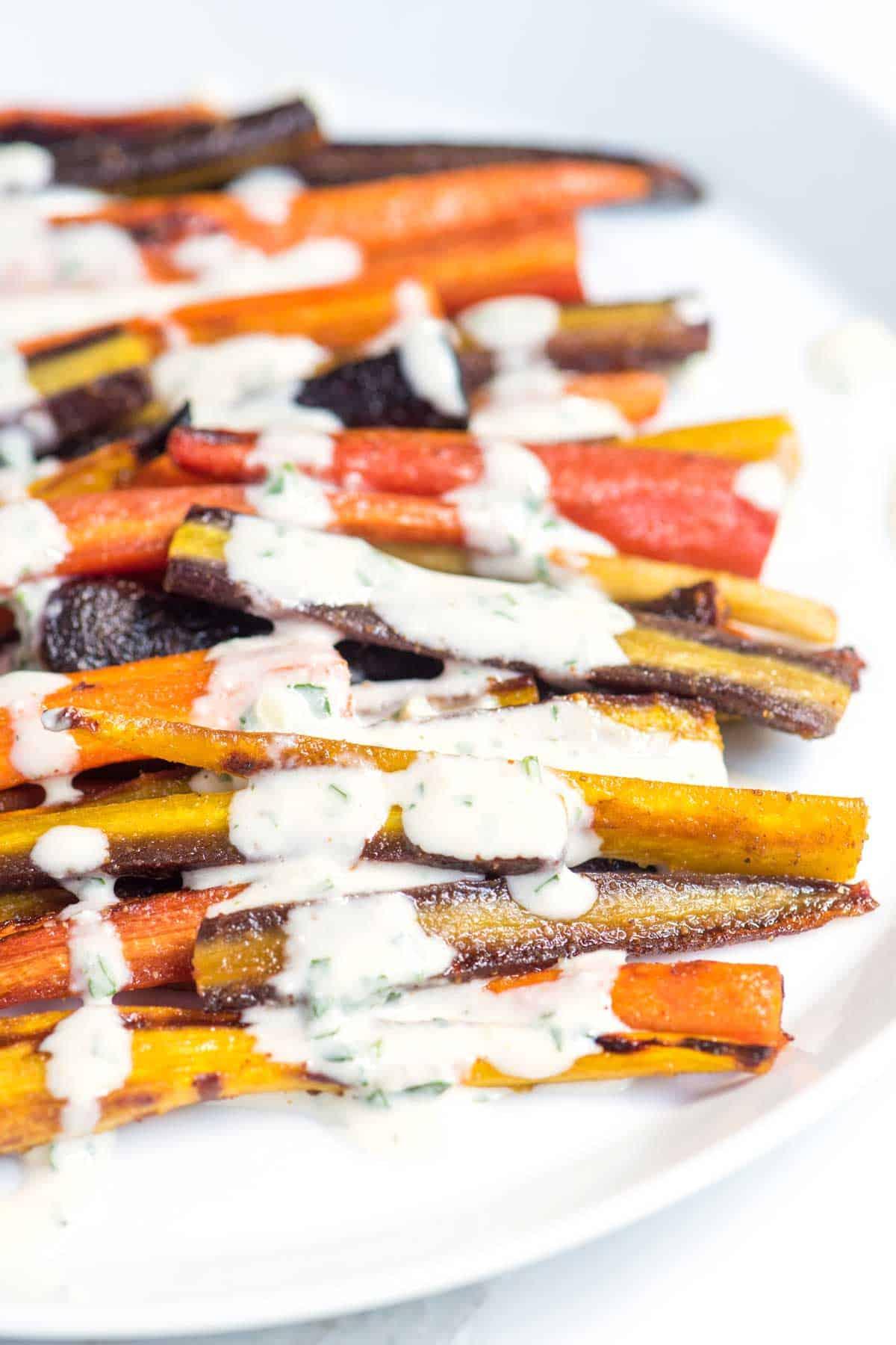 Cómo hacer zanahorias asadas con miel de 20 minutos