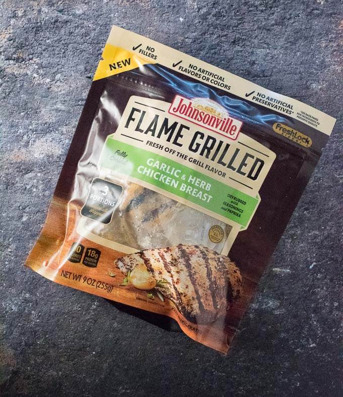 Johnsonville Flame Frango Grelhado