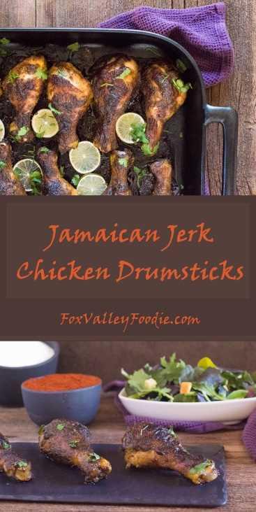 Receta de baquetas de pollo jamaicano Jerk