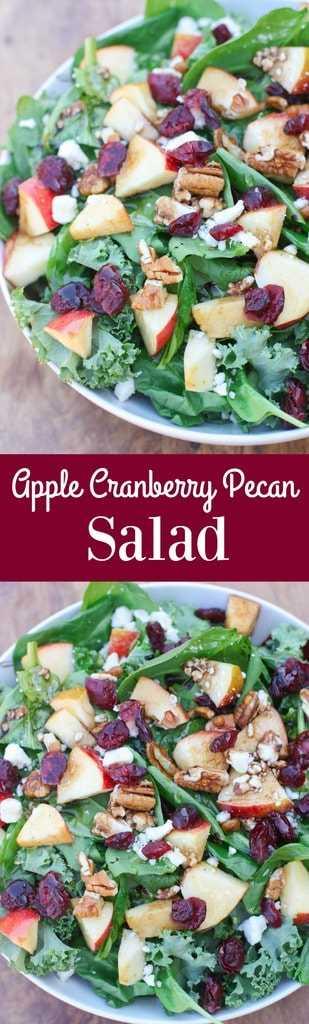 Salada de nozes e mirtilo com vinagrete balsâmico   Tem um sabor melhor do zero