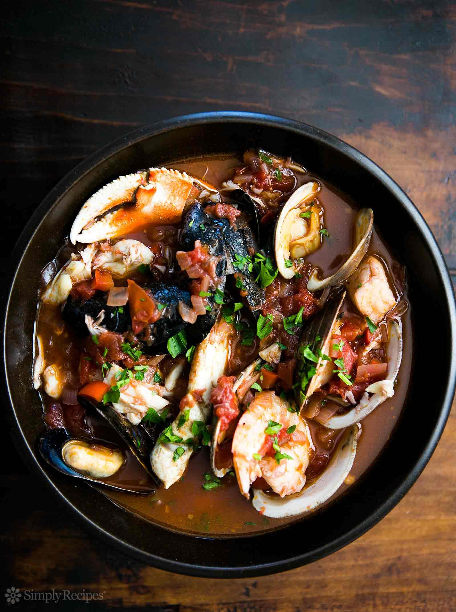 Auténtica receta de San Francisco Cioppino