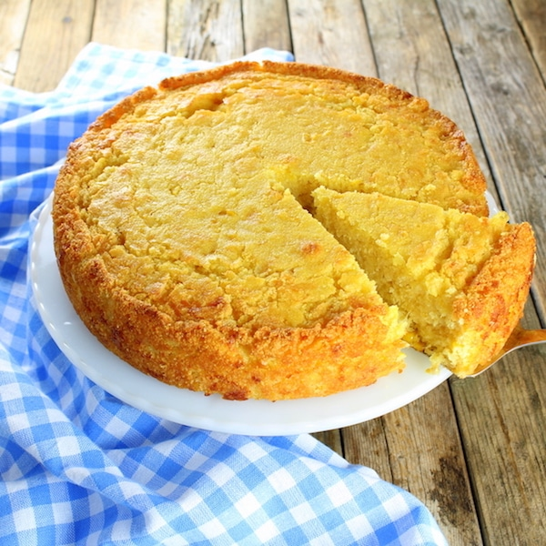 Pan de maíz dulce - Receta del Caribe!
