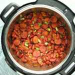 Olla fácil instantánea Frijoles rojos y arroz