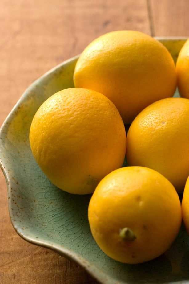 meyer limones Receta de pasta cremosa de limón y espárragos